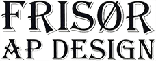 Damefrisør Næstved, Frisør AP Design logo